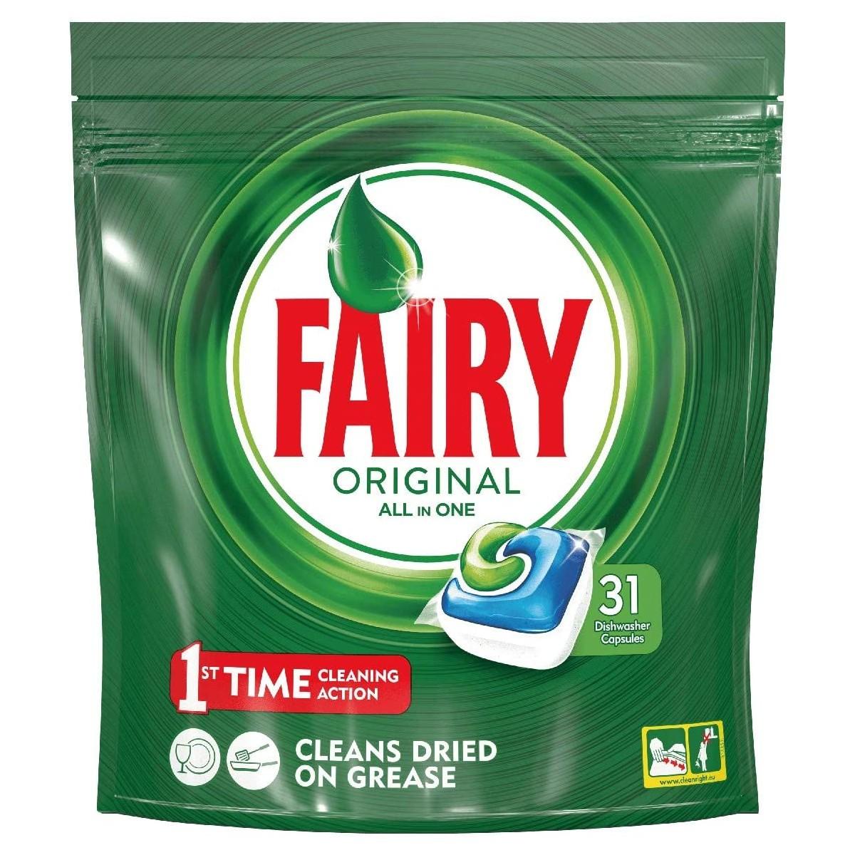 Fairy Original All in One Caps per lavastoviglie