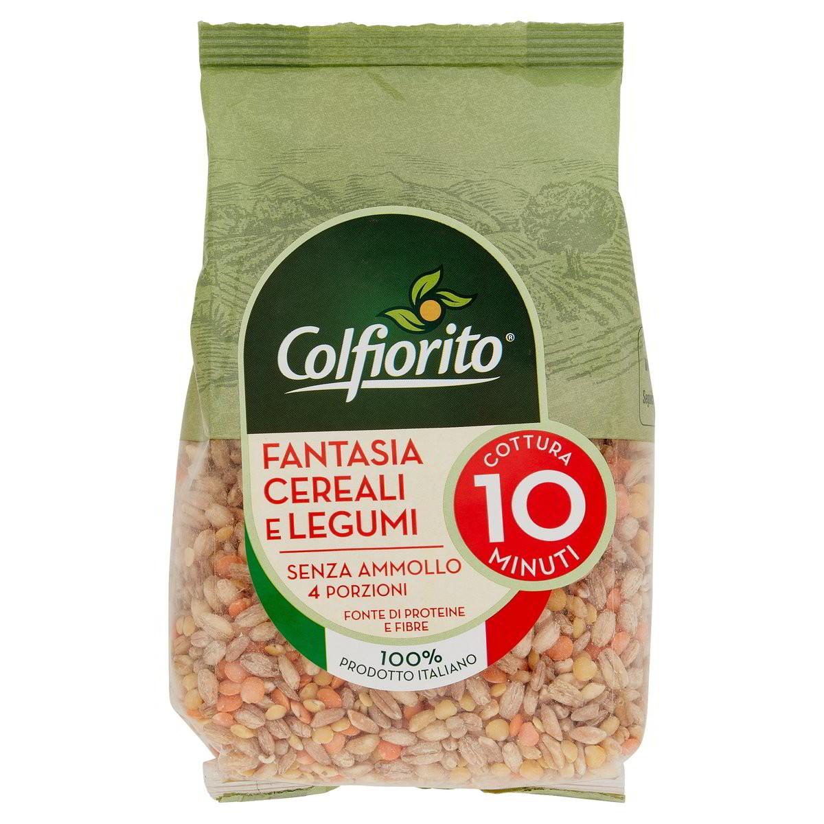 Colfiorito Fantasia Di Cereali E Legumi