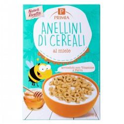 Anellini di cereali al miele