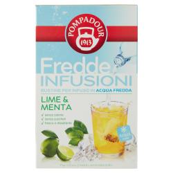 Pompadour Fredde Infusioni Lime & Menta