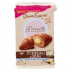 Bauli Croissant 7 Cereali E Semi Al Latte Fresco E Vaniglia