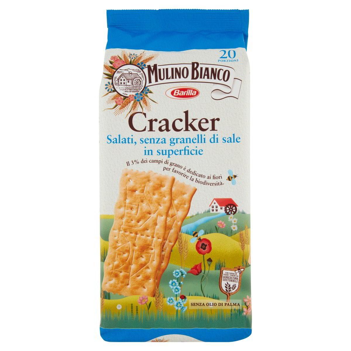 Cracker -30% di sale Sfoglia di Grano