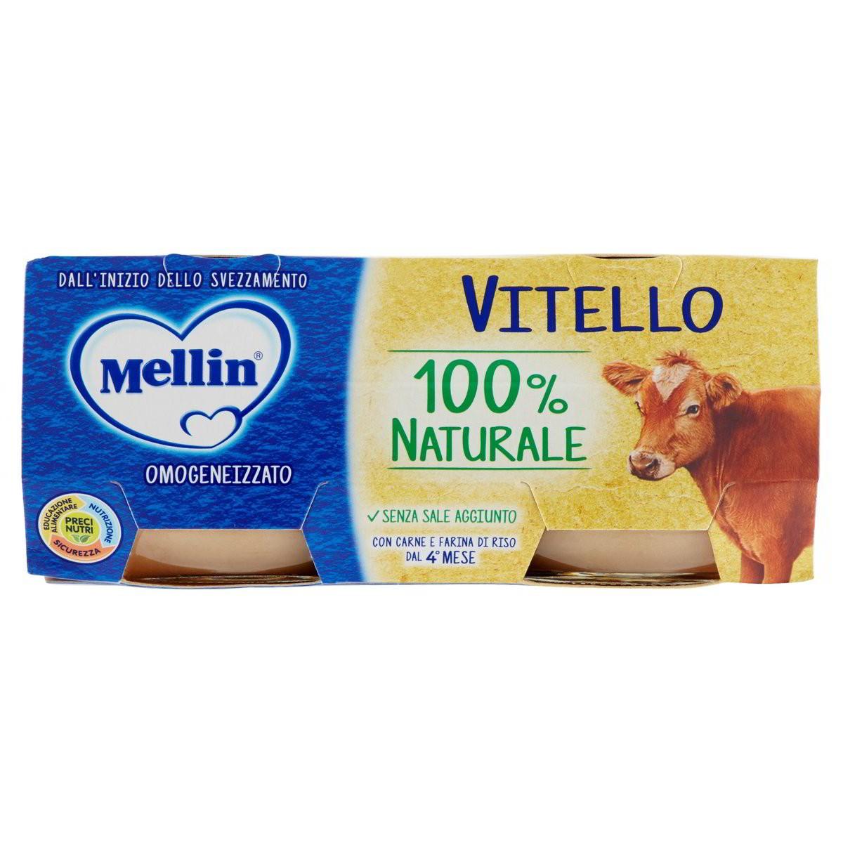 Mellin Omogeneizzato Vitello