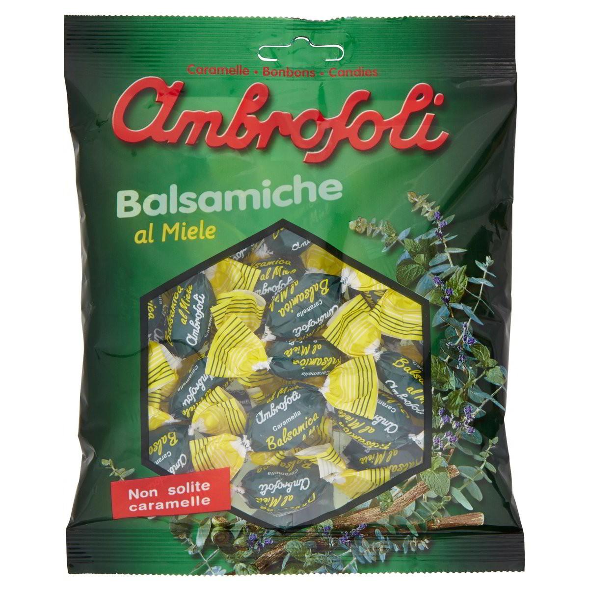 Caramelle Balsamiche Al Miele